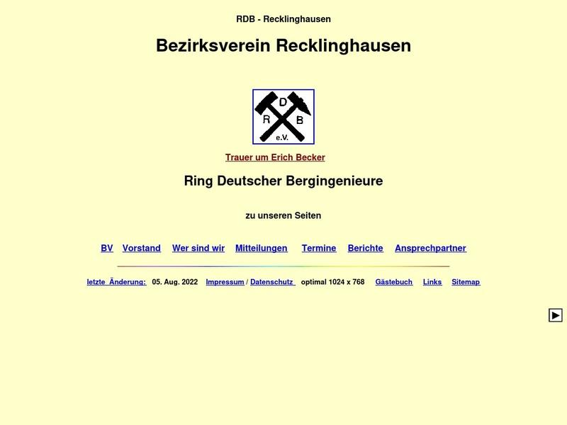 Screenshot von http://www.rdb-re.de